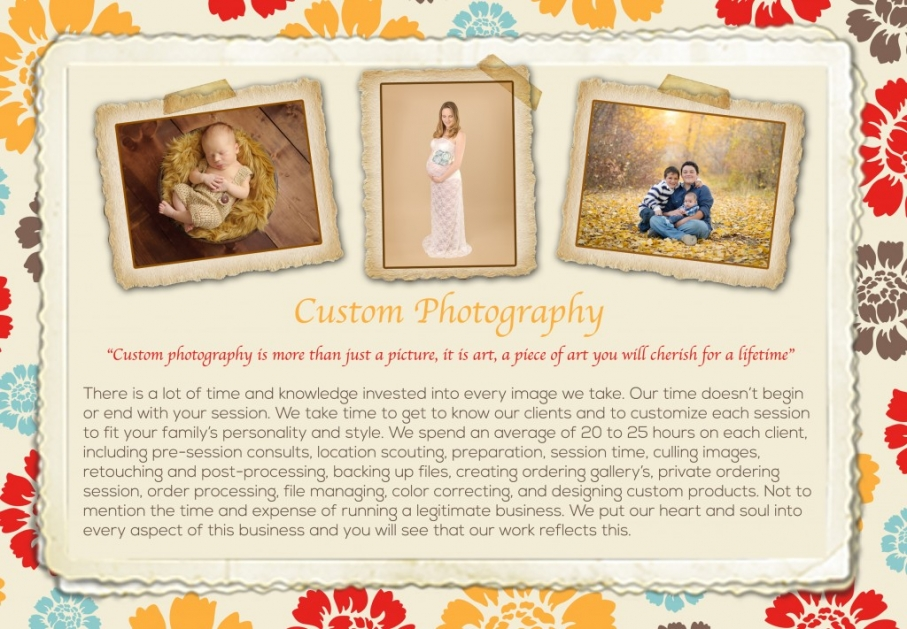 About - Custom Photography